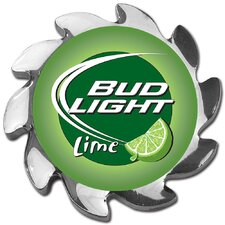 <strong>Trademark Global</strong> Bud Light Lime Spinner Card Cover in Silver