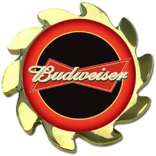 <strong>Trademark Global</strong> Budweiser Spinner Card Cover in Gold
