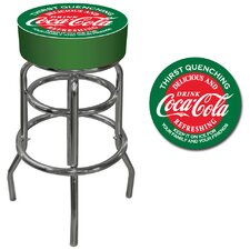 <strong>Trademark Global</strong> Coca Cola Pub Stool in Red and Green