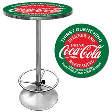 <strong>Trademark Global</strong> Coca Cola Pub Table