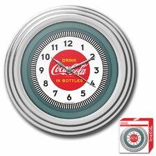 "Coca Cola 11.75"" 1930s Style Wall Clock"