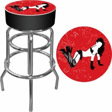 <strong>Trademark Global</strong> Shadow Babes - B Series - High Grade Padded Bar Stool