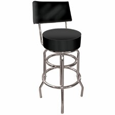<strong>Trademark Global</strong> High Grade Swivel Bar Stool with Cushion