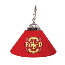 "<strong>Trademark Global</strong> Fire Fighter 14"" Single Shade Bar Lamp"