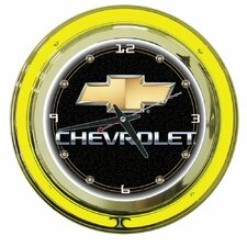 "<strong>Trademark Global</strong> 14"" Chevy Double Ring Wall Clock"