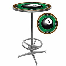 <strong>Trademark Global</strong> 8-Ball Pub Table with Foot Rest