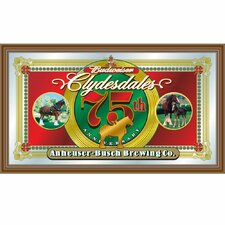 Budweiser Clydesdales 75th Anniversary Mirror - Anheuser-Busch Brewing Co.