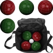 <strong>Trademark Global</strong> Full Size Premium Bocce Game Set