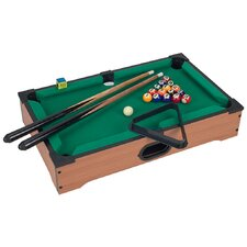 "Mini Table Top 20"" Pool Table with Accessories"