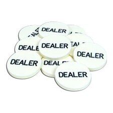 Professional Dealer Button (Set of 10)