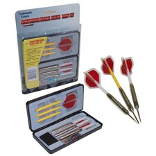 <strong>Trademark Global</strong> Competitor Nickel Silver Dart Set (Set of 12)