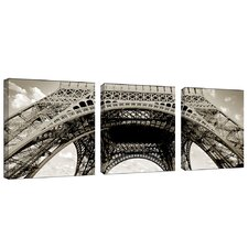 "Tour de Eifel by Preston, Canvas Art - 18"" x 18"" (Set of 3)"