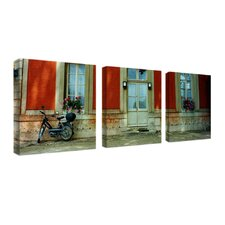Scooter in Versailles by Preston 3 Piece Photographic Print Set
