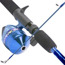 South Bend Worm Gear Fishing Rod and Spin Cast Reel Combo