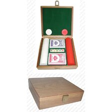 Poker Chip Gift Set with 100 Chips Plus More