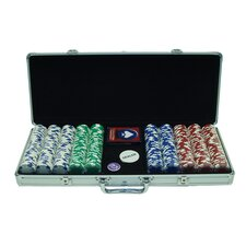 <strong>Trademark Global</strong> 500 Holdem Poker Chip Set with Aluminum Case