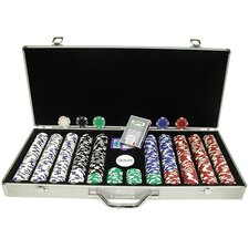 600 Royal Suited Chips with  Aluminum Case