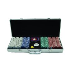 Chip Texas Hold'Em Set with  Aluminum Case