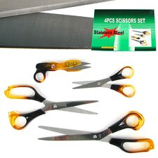 4 Piece Scissors Set