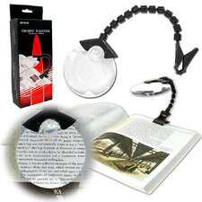 <strong>Trademark Global</strong> Hands Free Flex Neck Magnifier with Clip