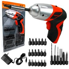 Cordless Screwdriver with LED Light