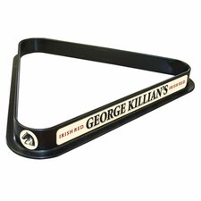 George Killian Billiard Ball Triangle Rack