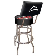 Coors Light Padded Bar Stool with Back