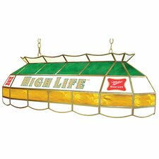 "<strong>Trademark Global</strong> Miller High Life Stained Glass 40"" Lighting Fixture"