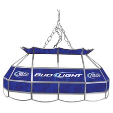 "<strong>Trademark Global</strong> Bud Light 28"" Stained Glass Pool Table Light"