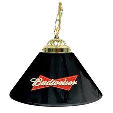 "Budweiser 14"" Single Shade Bar Lamp"
