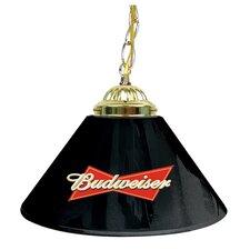 """Budweiser 14"""" Single Shade Bar Lamp"""
