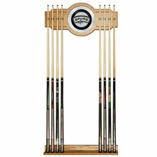 NBA Billiard Cue Rack with Mirror
