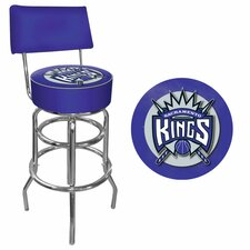 NBA Swivel Bar Stool with Cushion