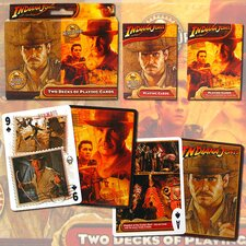 2 Decks- Indiana Jones Saga & Crystal Skull Playing Cards