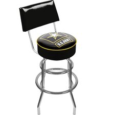 U.S. Army Swivel Bar Stool with Cushion