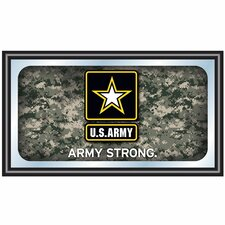 U.S Army Digital Camo Framed Logo Mirror