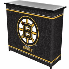 <strong>Trademark Global</strong> NHL 2 Shelf Portable Bar with Case