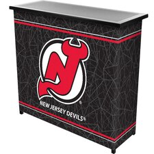 NHL 2 Shelf Portable Bar with Case