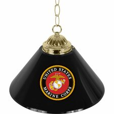<strong>Trademark Global</strong> U.S Marine Corps 1 Light Bar Pendant