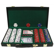 <strong>Trademark Global</strong> Pro Clay Casino Chips with Deluxe Case
