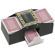 Texas Hold 'Em Two Deck Playing Card Shuffler