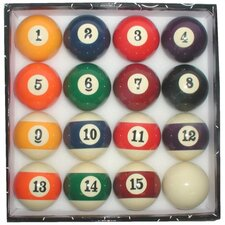 <strong>Trademark Global</strong> Standardized Pool Ball Set with Big Numbers