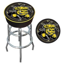 NCAA Padded Bar Stool