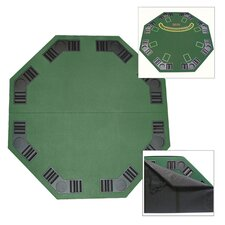 <strong>Trademark Global</strong> Deluxe Poker and Blackjack Table Top with Case