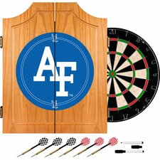 Air Force FalconsT Wood Dart Cabinet Set