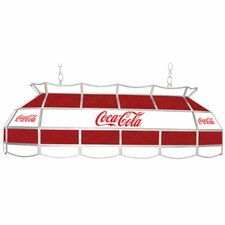 Coca Cola Vintage 3 Light Tiffany Vanity Light