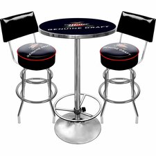 <strong>Trademark Global</strong> Ultimate Miller Genuine Draft 3 Piece Pub Table Set