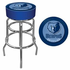 "31"" NBA Swivel Bar Stool with Cushion"