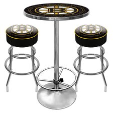 Game Room 3 Piece Pub Table Set
