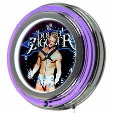 "14.5"" WWE Neon Wall Clock"